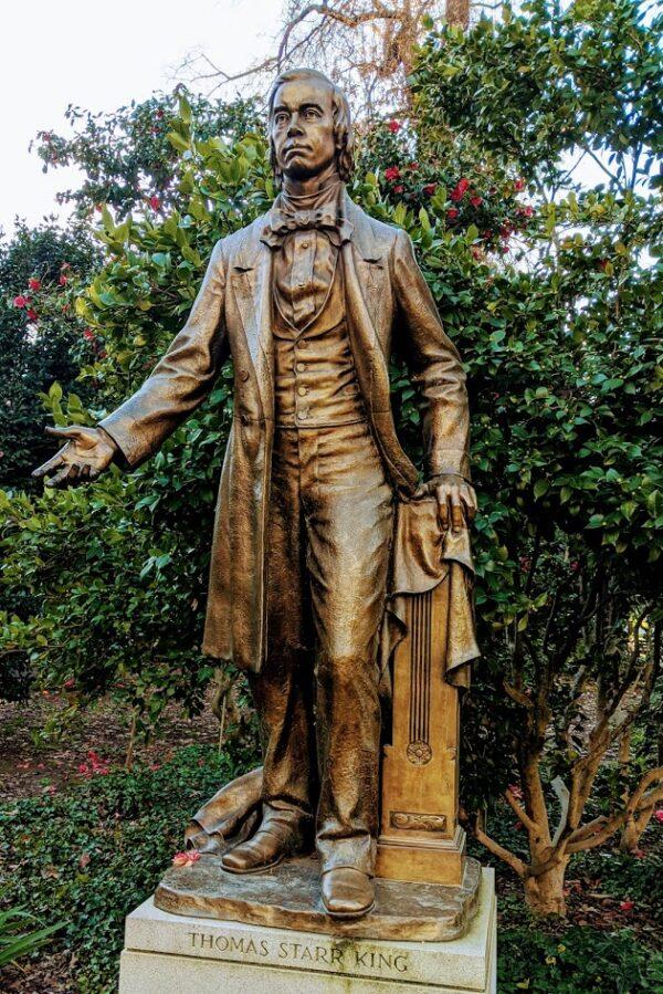 Thomas Starr King Sculpture in Sacramento Capitol Park