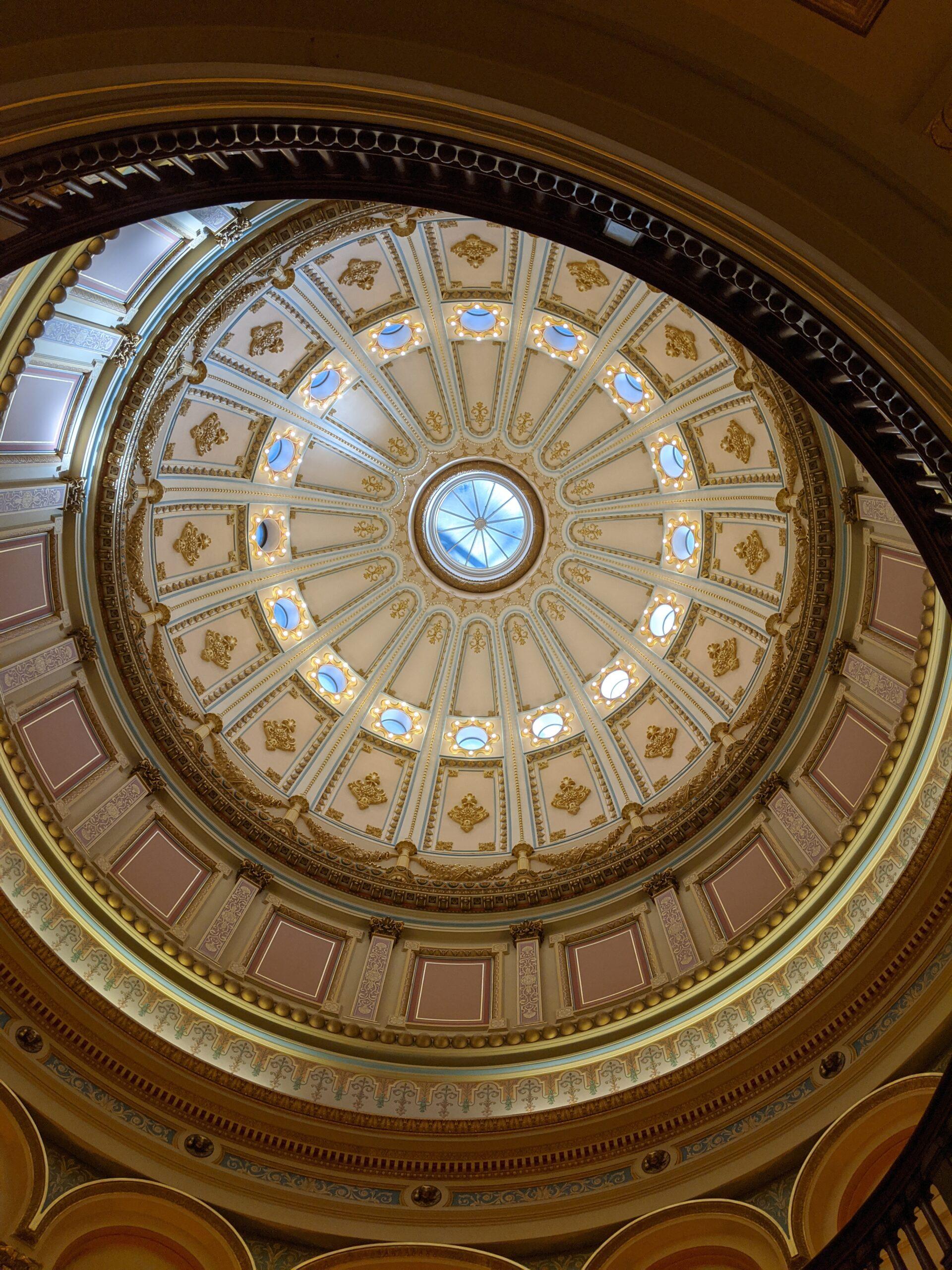 Sacramento Capitol Building Rotunda