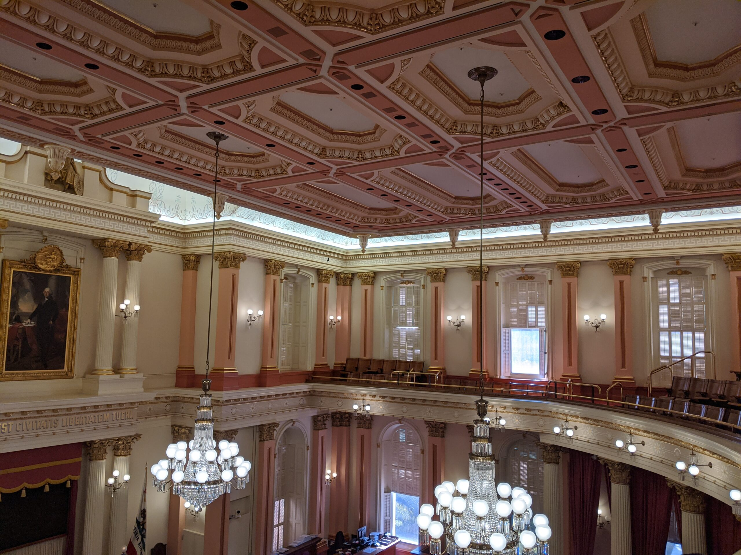 Sacramento Captol Building Legislative Chamber