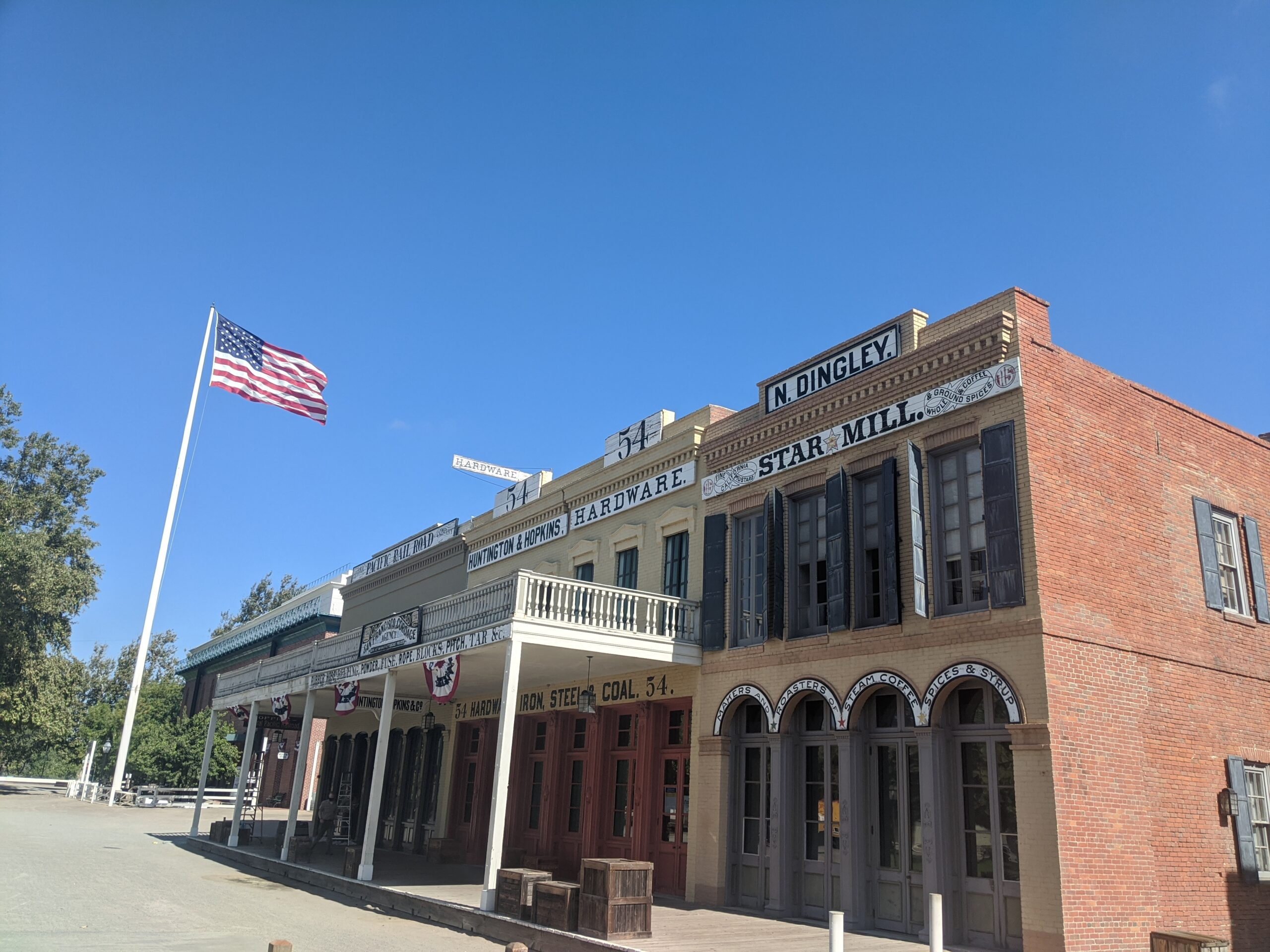 Old Sacramento Star Mill