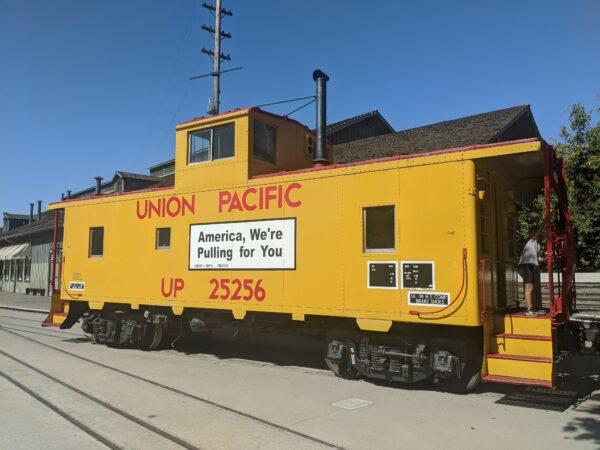 Union Pacific Rail Car in Old Sacramento