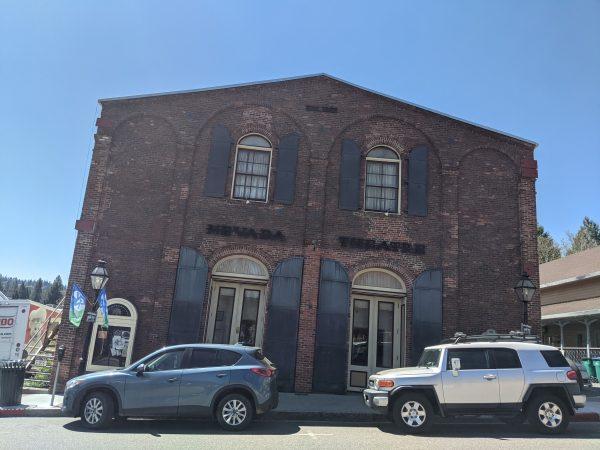 Nevada Theatre in Nevada City California
