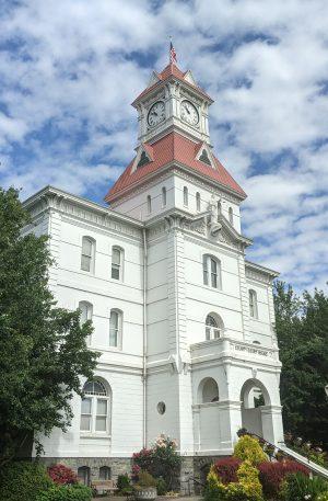 Benton County Courthouse Corvallis Oregon