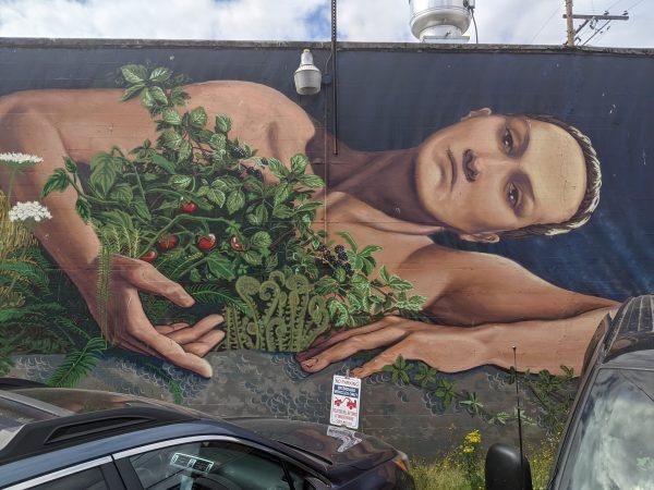 Mother Earth Mural in Corvallis Oregon