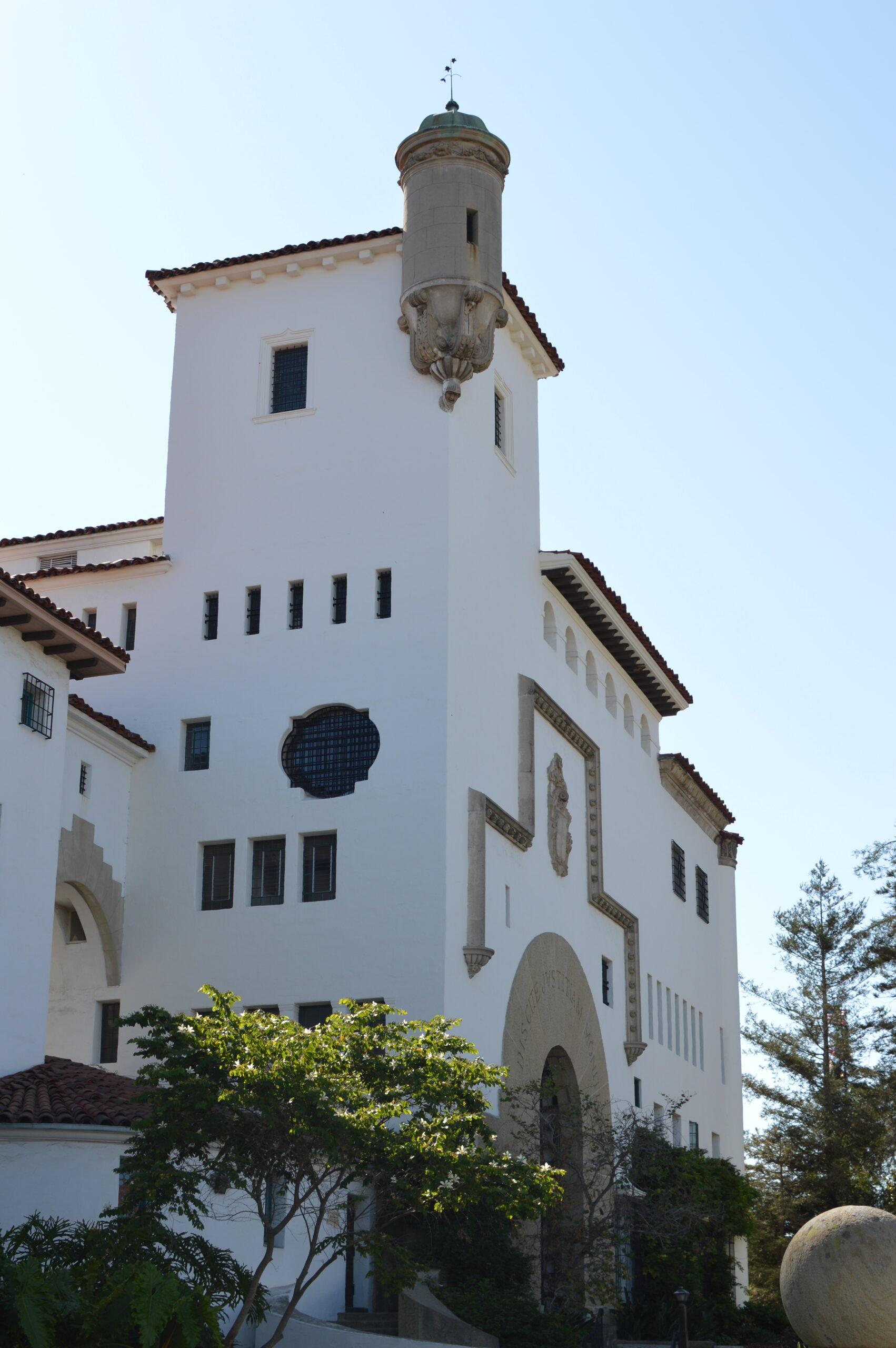 Unique architecture in Santa Barbara