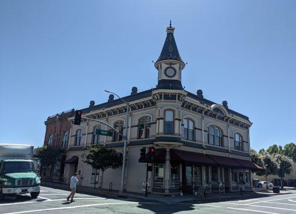 unique architecture in downtown Napa California