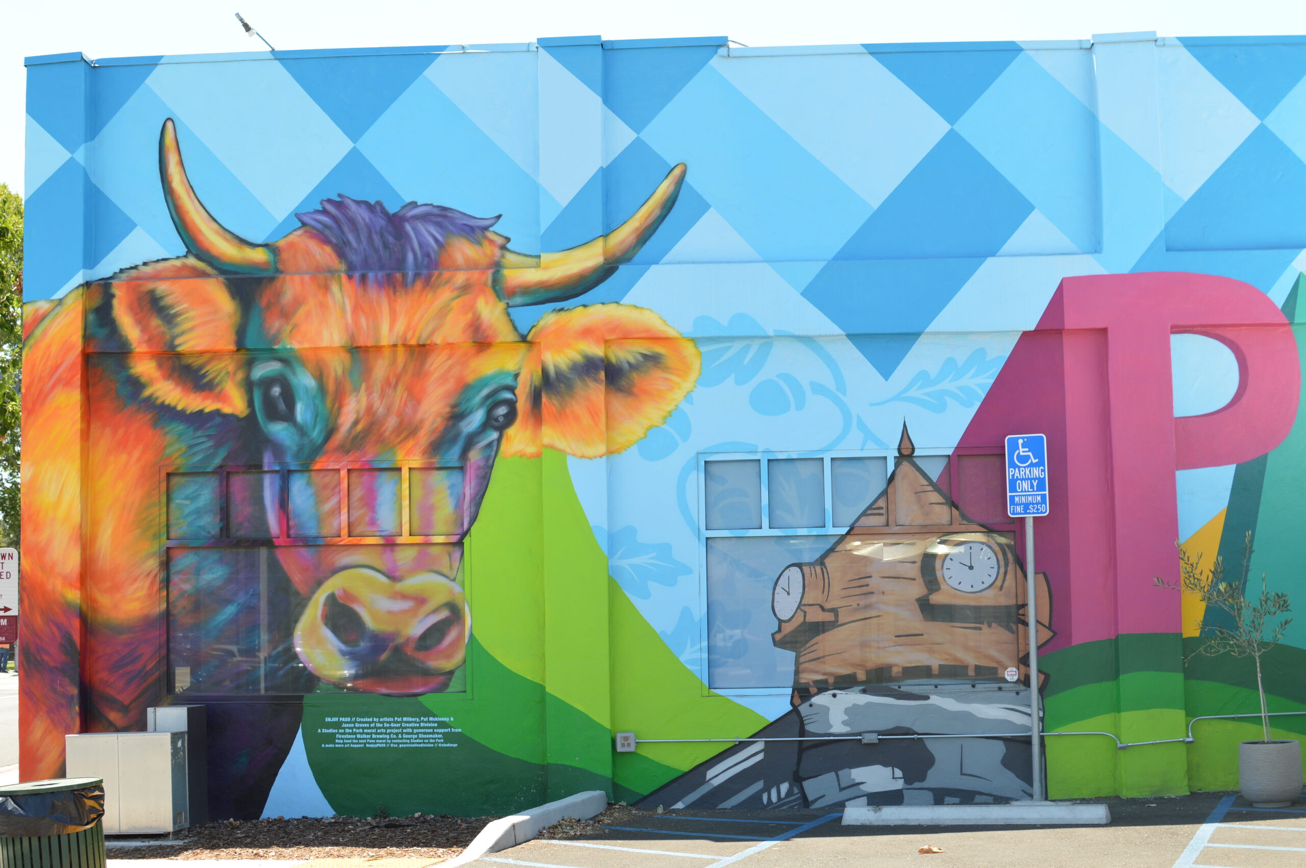 Visit Paso Robles Mural